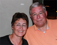 Bob and Lisa Maxwell - the inspiration for The Dude Hates Cancer